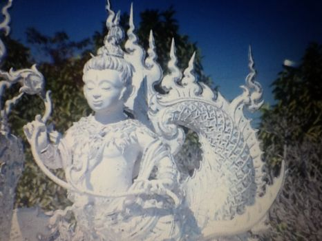 White temple..Thailand