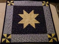 Black and Gold Star