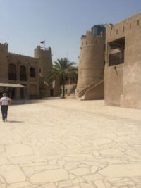 The fort in Ajman now a museum