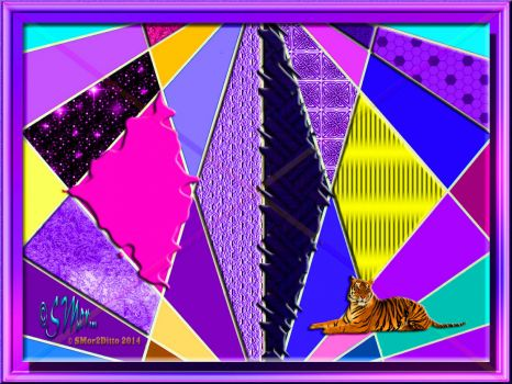 FOR TIGER/19Tiger49. Hope There's Enough Purple For You, Mate. ★。◕‿◕。★