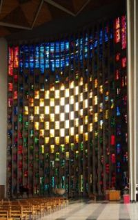 Coventry Cathedral - Baptistry Window