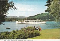 Postcard & envelope pictures 111 - English Lakes (6 of 6) Lake Windermere