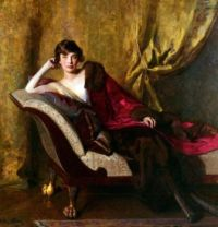 John Quincy Adams - Portrait of Countess Michael Karolyi, 1918