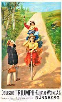 Themes Vintage ads - Triumph Bicycles