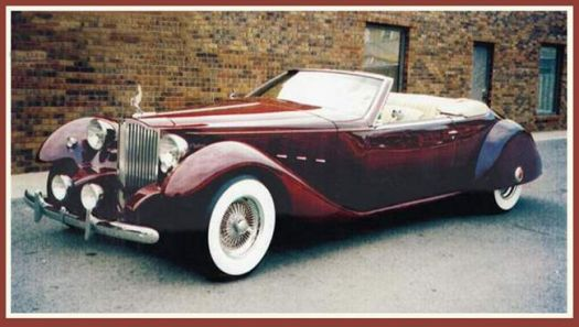 1934 PACKARD BAYLIFF CUSTOM CONVERTIBLE