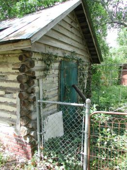Old Log Shed