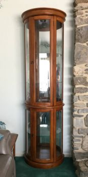 Speed round! Corner curio for sale