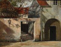 """David Monies, """"Street View of Copenhagen"""""""
