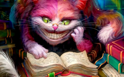The Time Has Come To Think Of Other Things: Of Cheshire Cats and Story books, of Cabbages and Kings!