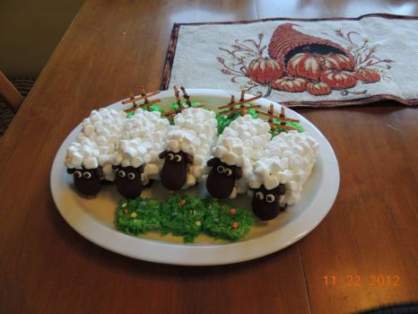 sheep for dessert