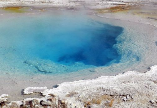 Silex Spring, Midway Geyser Basin, Yellowstone National Park