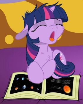 MLP: Twilight Studying Astronomy