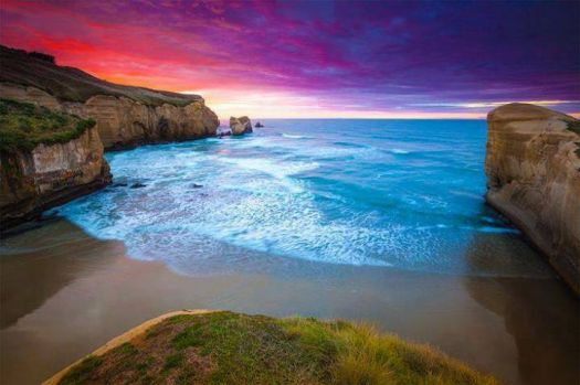 Tunnel Beach, New Zealand