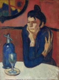 Absinthe #10 - Picasso Femme au café (Absinthe Drinker) - tenth in a series