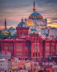 Phanar Greek Orthodox College in Istanbul, Turkey