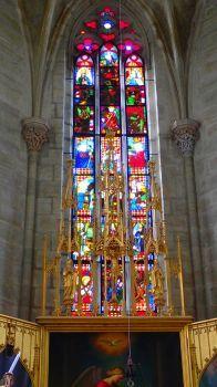 Zámek Žleby kaple