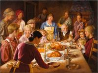 Happy Thanksgiving by Alfredo Rodriguez