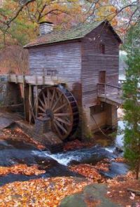 Mill in Stone Mountain in the State of Georgia