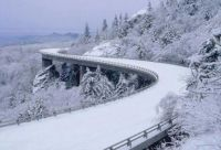 Linville Viaduct in Winter