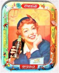 Themes Vintage ads - Coca Cola Tray