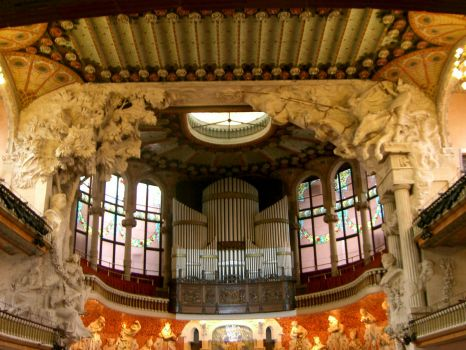 Palace of Catalan Music, Barcelona