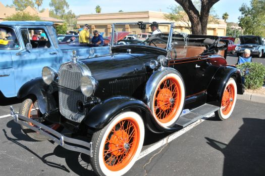 1929 Model A Ford Roadster for littlebuttercup