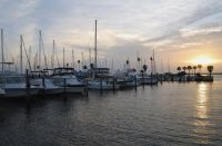 Dunedin Daily Photo: Sunset over Dunedin Marina: Dunedin, Florida