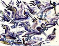Pelicans, by Walter Inglis Anderson