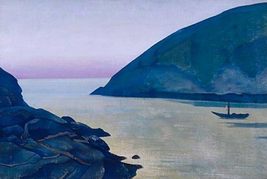 Monhegan (Hope) - Nicholas Roerich  · 1922