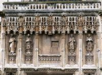 Exterior of Canterbury Cathedral