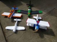 4 foam board planes