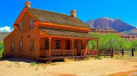 Alonzo & Nancy Russell Home in Grafton Utah