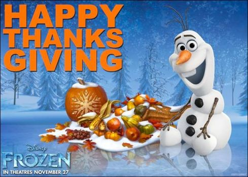 Frozen Thanksgiving