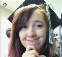 my granddaughter...almost graduation day...yay....