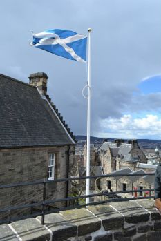 Edinburgh Castle Flag