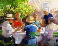 Andrea Deymonaz  Impressionist Artist