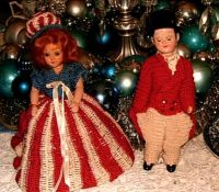 More crocheted dolls
