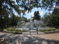 Fountain in Forsyth Park, Savannah GA