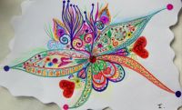 Butterfly in love! By me again :-)