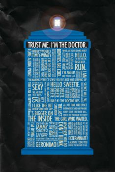 Tardis filled with quotes