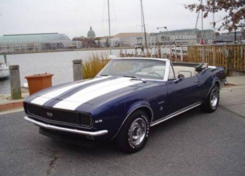 Solve 1967 Chevrolet Camaro SS/RS convertible 'bandit