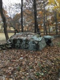 Spencer brook glacial erratic