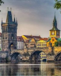 Charles Bridge, Prague, Czech Republic  5818