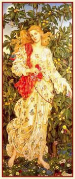 """Flora"" by Evelyn De Morgan"