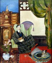 A portrait of Mauritz Stiller