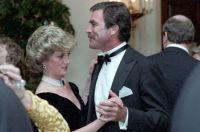 Princess Diana and Tom Selleck