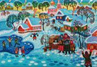 Village theme - Maria Podverbnaya
