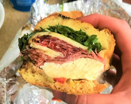 Recently found a tiny local Italian deli with amazing sandwiches