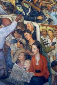 Diego Rivera Mural in the Palacio Nacional