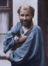 Gustav Klimt And Friend